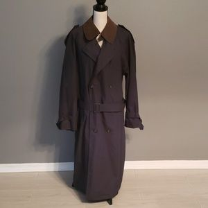 Towne From London Fog Trench Coat Size 40Reg